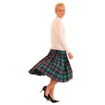 OUTLANDER Kilted Skirt Authentic Premium Wool