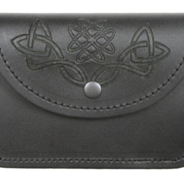 Economy Celtic Embossed Belt Pouch
