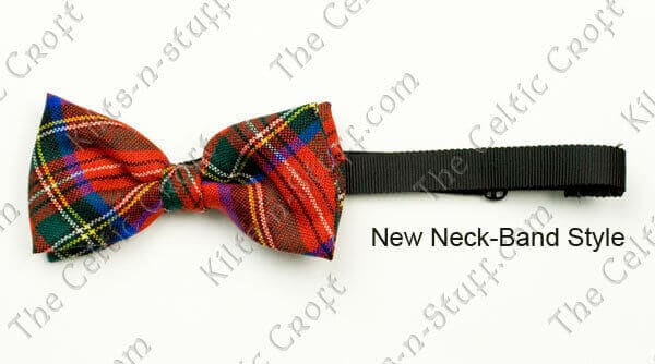 Tartan Cummerbund and Bow Tie Set, Light Weight
