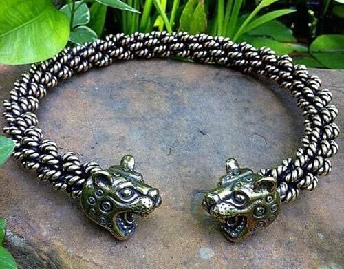 Leopard Torc Extra Heavy Weight