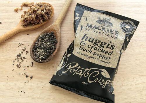 Haggis Potato Chips
