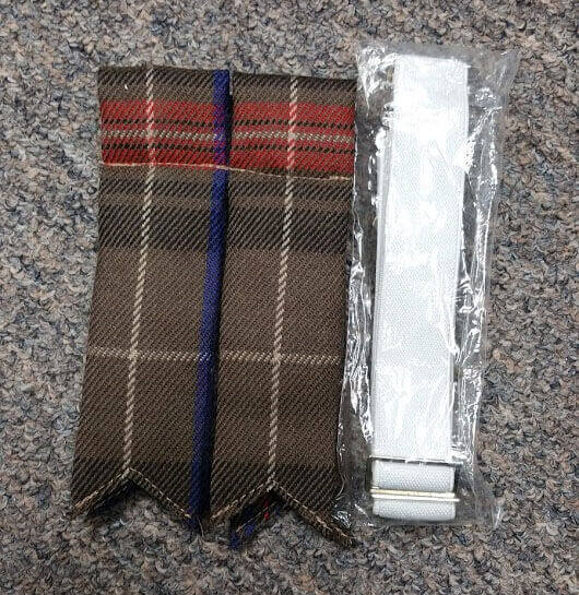 Griffiths of Wales Tartan Flashes