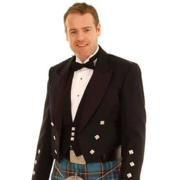 Formal Kilt Shirt and Tie Set