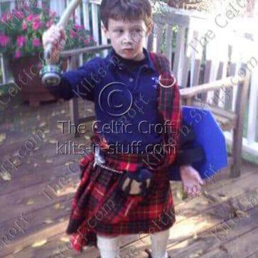 Medium Ancient Kid Kilt