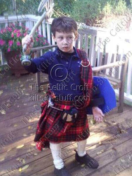 Medium Ancient Kid Kilt