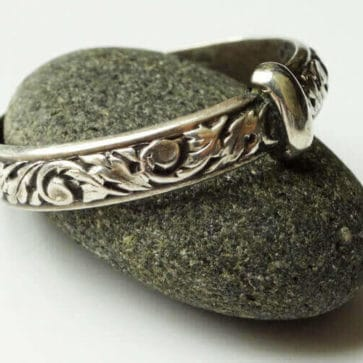 Thistle Filigree Ring