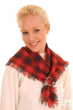 Light Weight Square Scarf Set of 2 (Tartan List A & B)