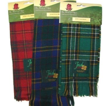 Irish County Lambswool Scarf