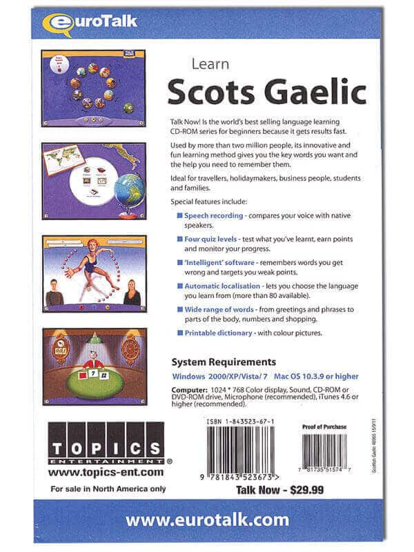 Scots Gaelic for Beginners Talk Now
