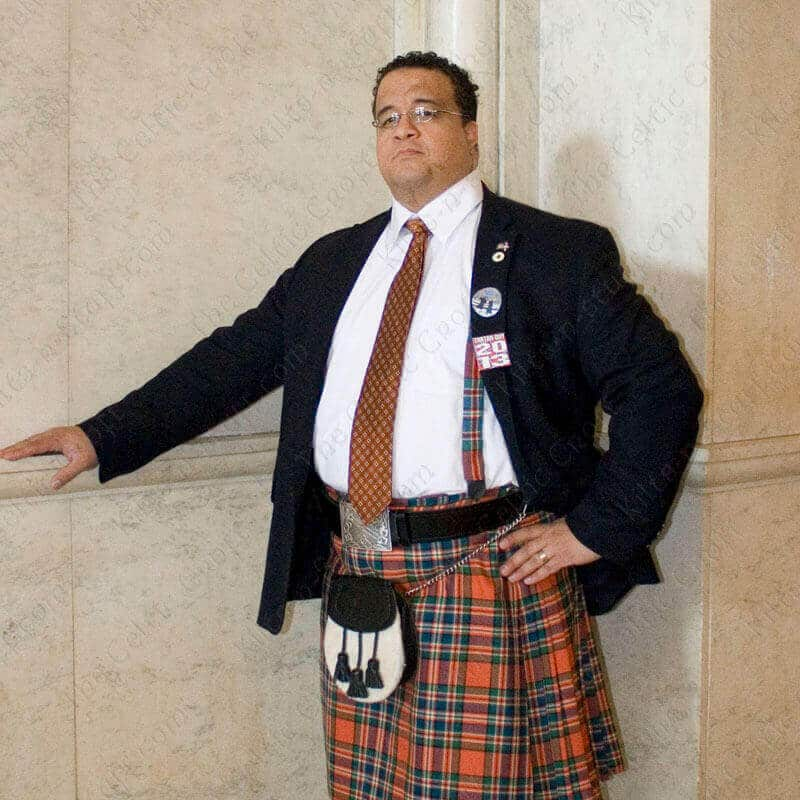 Homespun Tartan Suspenders