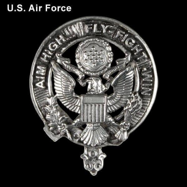 U.S. Air Force Pewter Cap Badge/Brooch