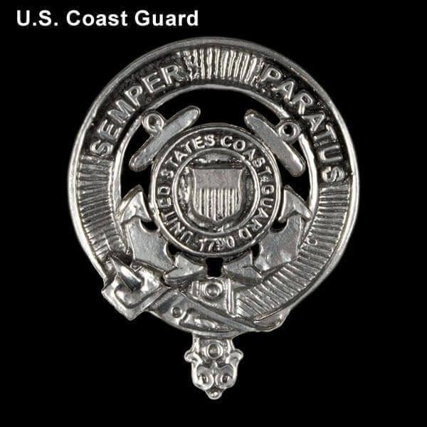 U.S. Coast Guard Pewter Cap Badge/Brooch