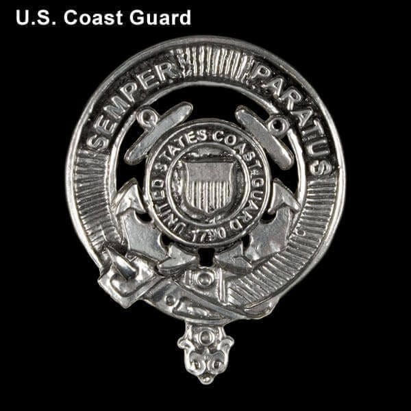 U.S. Coast Guard Pewter Cap Badge/Brooch