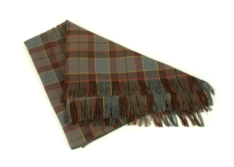 OUTLANDER Blanket Poly/Viscose Tartan