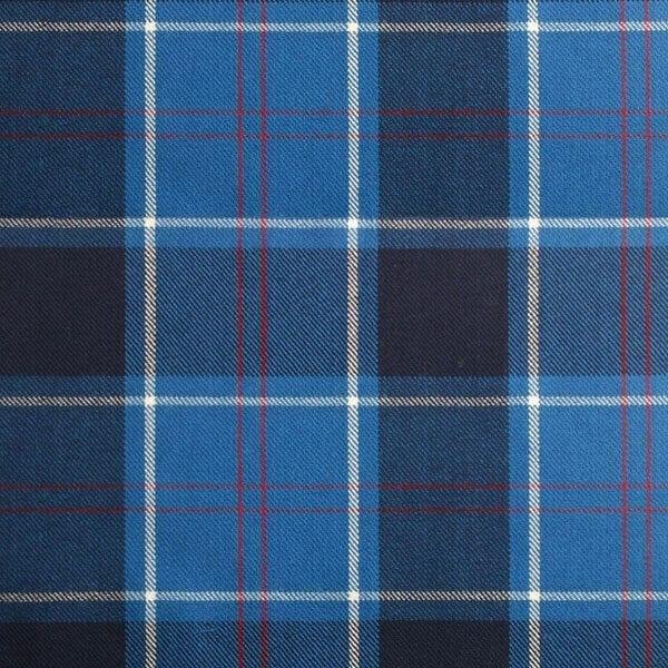 U.S. Navy Tartan Fabric
