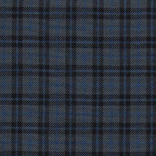 Poly Viscose Tartan Flags