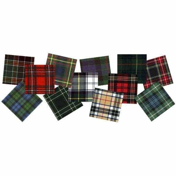 Swatch Medium Weight Tartan