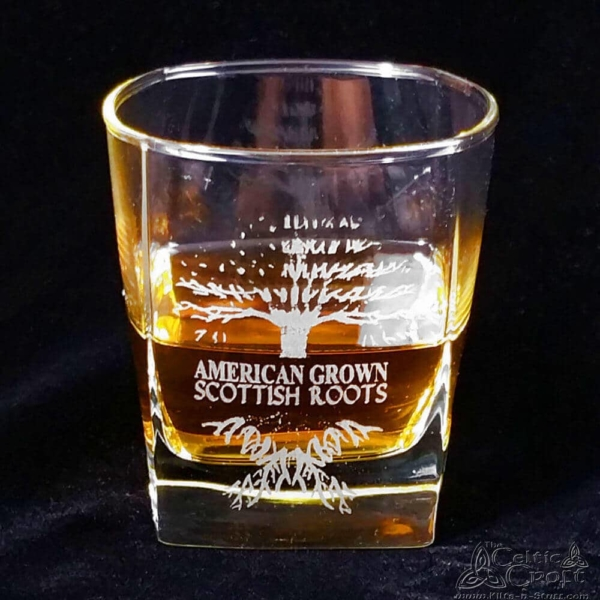American Grown - Scottish Roots - Whisky Glass