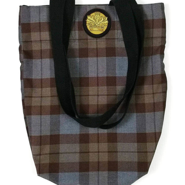 OUTLANDER Tote Bag Poly-Viscose Tartan