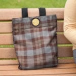 OUTLANDER Tote Bag Poly-Viscose Tartan