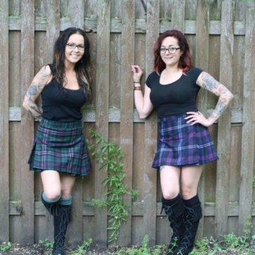 Poly/Viscose Standard Kilted Skirts