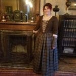 OUTLANDER Gathered Skirt Authentic Premium Wool