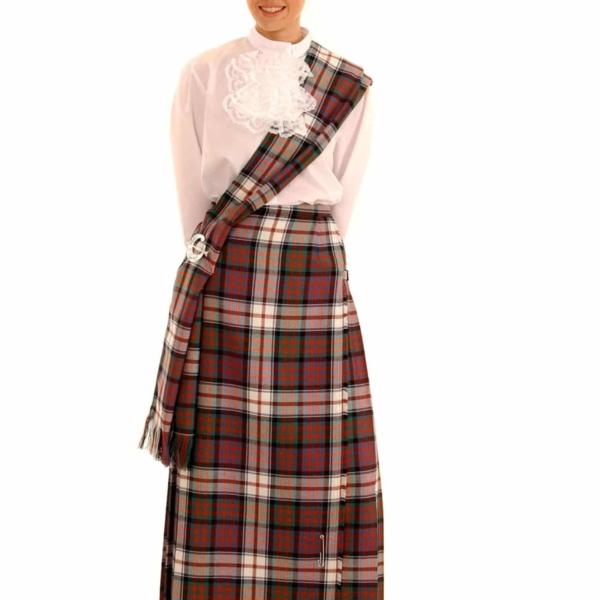 Add a Matching Poly/Viscose Tartan Traditional Ladies Sash (a $5 savings)