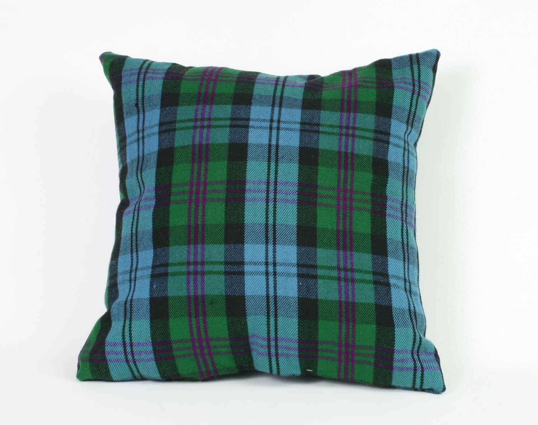 Tartan Throw Pillow (Homespun)