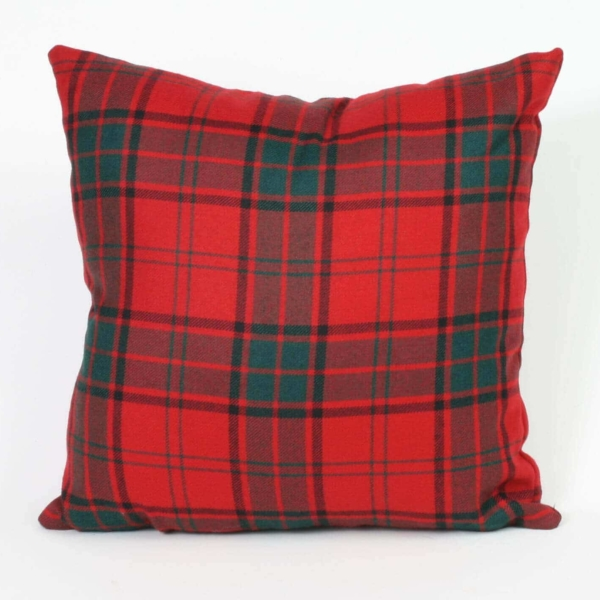 Tartan Throw Pillow (Heavy Weight List G)