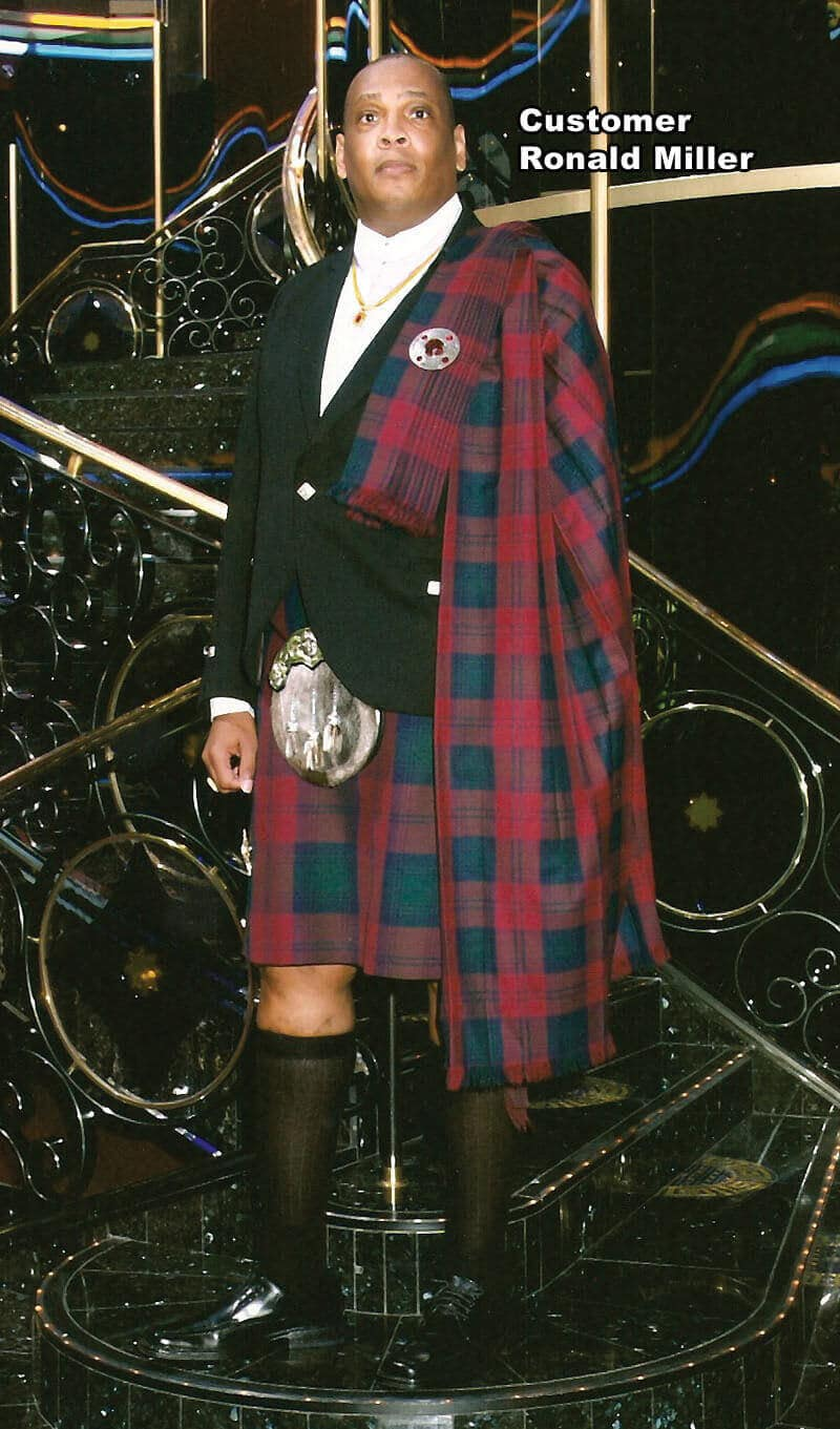 Poly Viscose Pipers Plaid