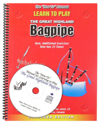 Learn to Play Bagpipes Manual and CD