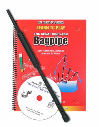 Learn to Play Bagpipes Kit