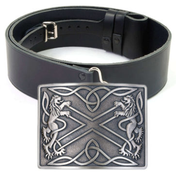 Kilt Belts and Buckles