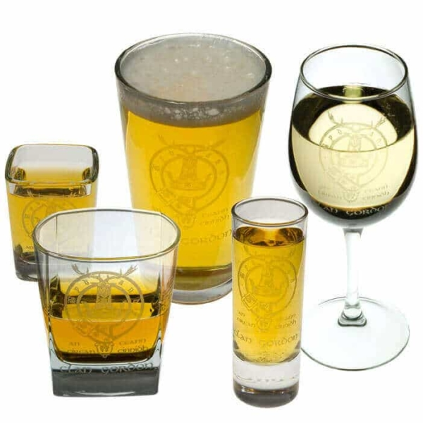 Clan Crest Mugs and Glasses