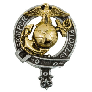 U.S. Marine Corps Gold Plated Badge/Brooch