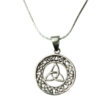 Celtic Triskle Necklace