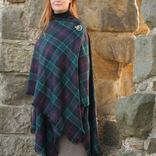 Tartan Serape, Medium Weight Premium Wool (list D)