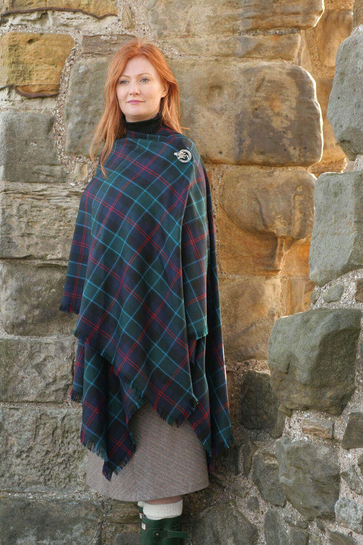 Tartan Serape, Medium Weight Premium Wool (list D)