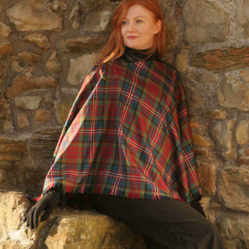 Tartan Shawl, Medium Weight Premium Wool (Tartan List D)