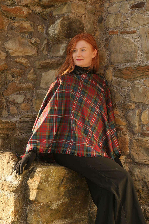 Tartan Shawl, Medium Weight Premium Wool (Tartan List D)