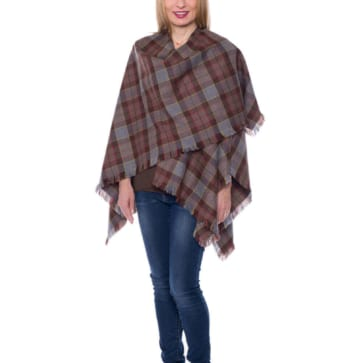 OUTLANDER Wrap Poly/Viscose Tartan