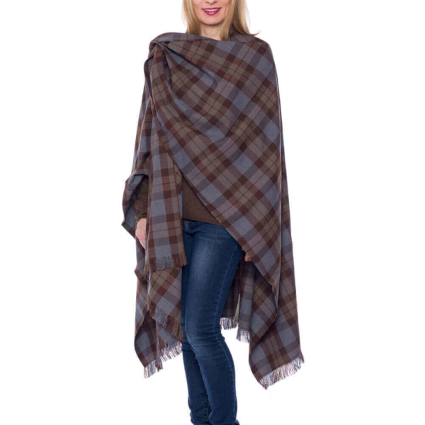 OUTLANDER XL Wrap Authentic Premium Wool Tartan