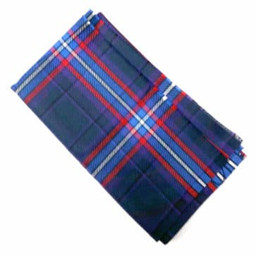 Scottish American National Tartan Remnant