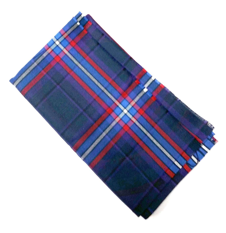 Scottish American National Tartan Remnant