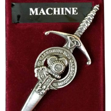 Machine Gears Steampunk Kilt Pin