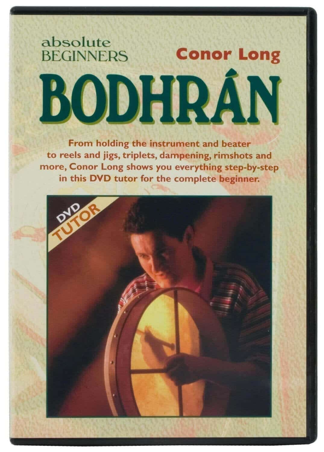 Learn to Play Bodhran  DVD by Conor Long-back order