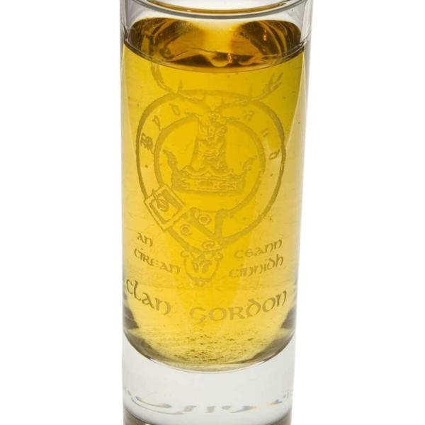 Clan Crest Tall Shot Glass