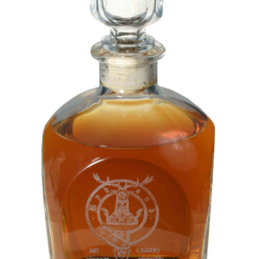 Clan Crest Decanter