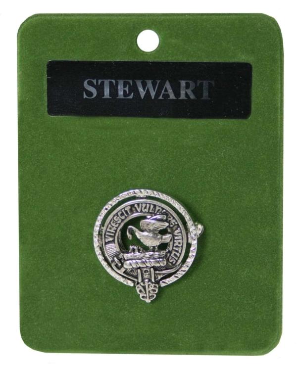 Clan Crest Mini Brooch