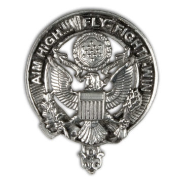 U.S. Air Force Pewter Cap Badge/Brooch